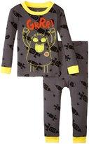 Petit Lem Space Odyssey 2 Piece PJ Set (Toddler/Kid) - Gray - 2