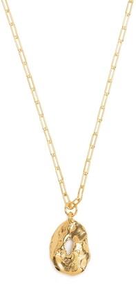 Alighieri The Eager Traveler medallion necklace