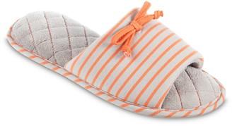 Isotoner Women's Nani Stripe Slide Slipper