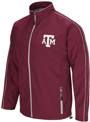 Colosseum Men's Maroon Texas A&M Aggies Big & Tall Barrier Full-Zip Wind Jacket