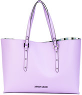 Armani Jeans shopper tote - women - PVC - One Size