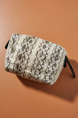 Big Box Pouch By Let & Her in White Size ALL