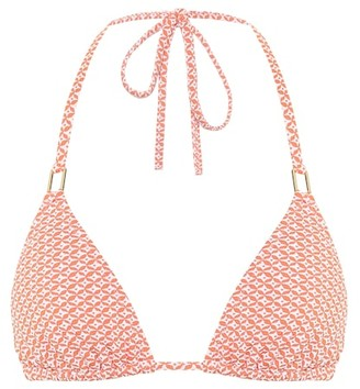 Melissa Odabash Cancun printed triangle bikini top