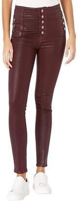 J Brand Natasha Sky High Skinny in Stellar Courant (Stellar Courant) Women's Jeans