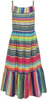 M&Co Multi-coloured stripe pattern maxi dress