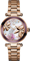 Gc Y21002L3 Ladybelle rose-gold watch