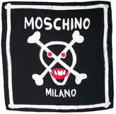 Moschino Printed Silk Scarf w/ Tags