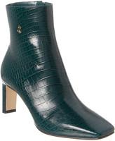 Jimmy Choo Minori 65 Croc-Embossed Leather Boot