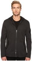 John Varvatos Short Hooded Parka with Sleeve Pocket Detail O1469S4B