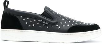 Jimmy Choo Hawaii slip-on sneakers
