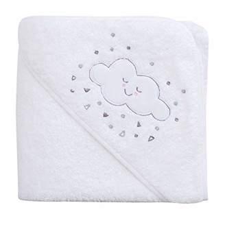 Clevamama Apron Baby Bath Towel with Hood - Grey