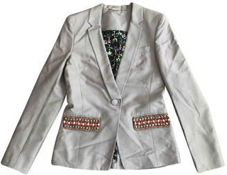 Matthew Williamson Beige Silk Jacket for Women