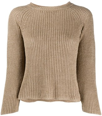Zanone Three-Quarter Sleeve Jumper
