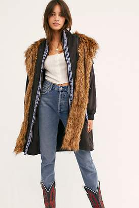 Free People Folklore Fur Hooded Parka