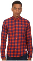 Scotch & Soda Button Down Shirt in Brushed Cotton Quality