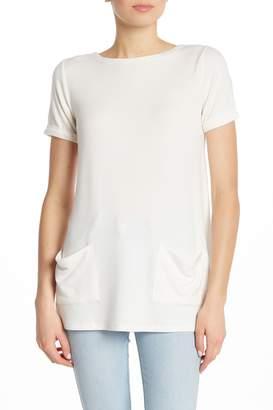 Cg Sport Boatneck Cuffed Short Sleeve T-Shirt