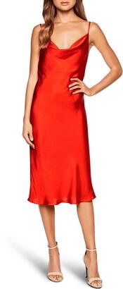 Bardot Cowl Neck Slip Dress