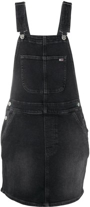 Tommy Jeans Heritage dungaree dress