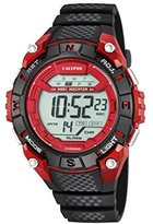 Calypso Unisex Digital Watch with LCD Dial Digital Display and Black Plastic Strap K5683/5