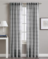 "CHF Preston Horizontal Stripe 50"" x 95"" Backtab Window Panel"