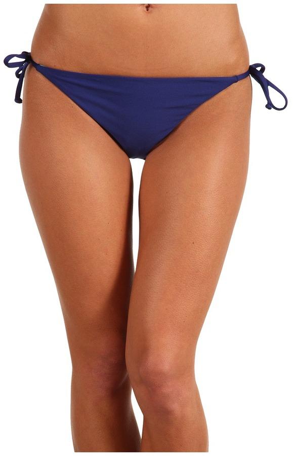 Splendid Bayside Solids Tie Side Pant (Navy/Foam) - Apparel