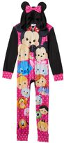 Disney's Minnie Mouse Tsum Tsum Girls 4-12 One-Piece Pajamas