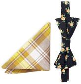 Original Penguin Emery Floral Bow Tie & Pocket Square Set