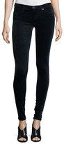 AG Jeans The Legging Velvet Skinny Jeans, Blue Night