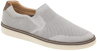 Johnston & Murphy McGuffey Slip-On Knit Sneaker (Black) Men's Shoes