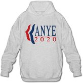 Sune Men's Kanye West For President 2020 Hooded