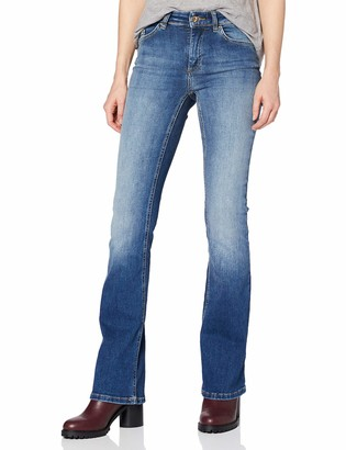 Only Women's Onlblush Mid Flared Bb Rea1303 Jeans