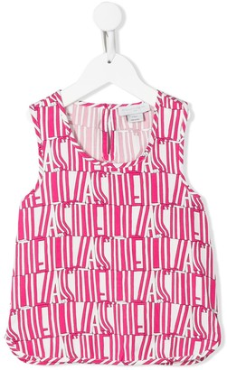 Stella McCartney Stella Type print top
