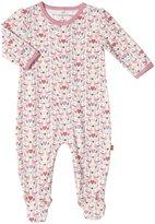 Magnificent Baby Love Birds Footie (Baby) - Pink-Newborn