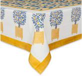 Couleur Nature Lemon Tree Tablecloth - Yellow/Blue