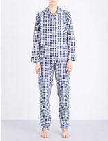 Tommy Hilfiger Checked woven cotton pyjama set