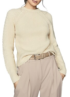 Reiss Aisling Chunky Crewneck Sweater