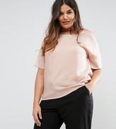 Junarose Short Sleeve Contrast Top