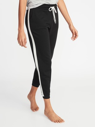 Old Navy Side-Stripe French-Terry Joggers for Women
