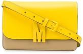 Moschino Logo Plaque Cross Body Bag