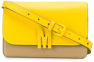 Moschino Logo Plaque Cross Body Bag