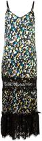 Maurizio Pecoraro printed dress - women - Silk/Nylon/Spandex/Elastane/Wool - 40