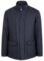 Pal Zileri Navy Stretch Wool Jacket