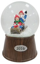 Threshold Sledding Kids Snowglobe - Wood
