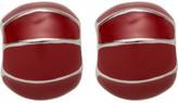 Barcs Shell Enamel Post Earring
