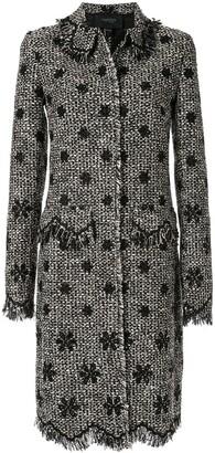 Giambattista Valli woven tweed coat