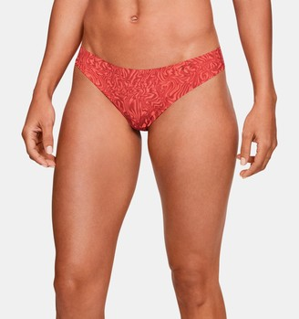 Under Armour Women's UA Pure Stretch Thong 3-Pack Printed