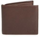 Barbour Men's Standard Leather Bifold Wallet - Black
