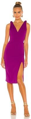 Jay Godfrey Violet Dress