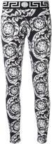 Versace Ice Baroque leggings - women - Polyamide/Spandex/Elastane - 2