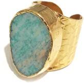 Charlene K Amazonite Cigar Ring